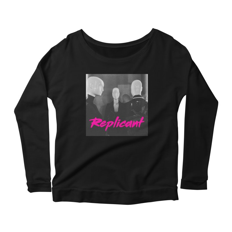 Replicant Trio #1 Women's Longsleeve T-Shirt by Dia Lacina