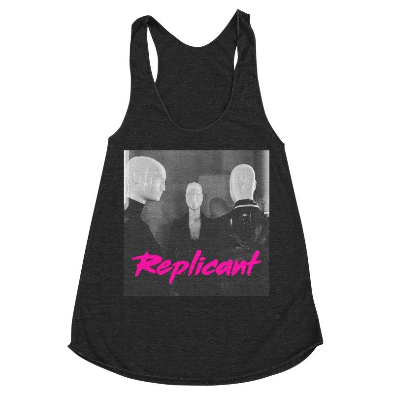 Replicant Trio #1 Women's Tank by Dia Lacina