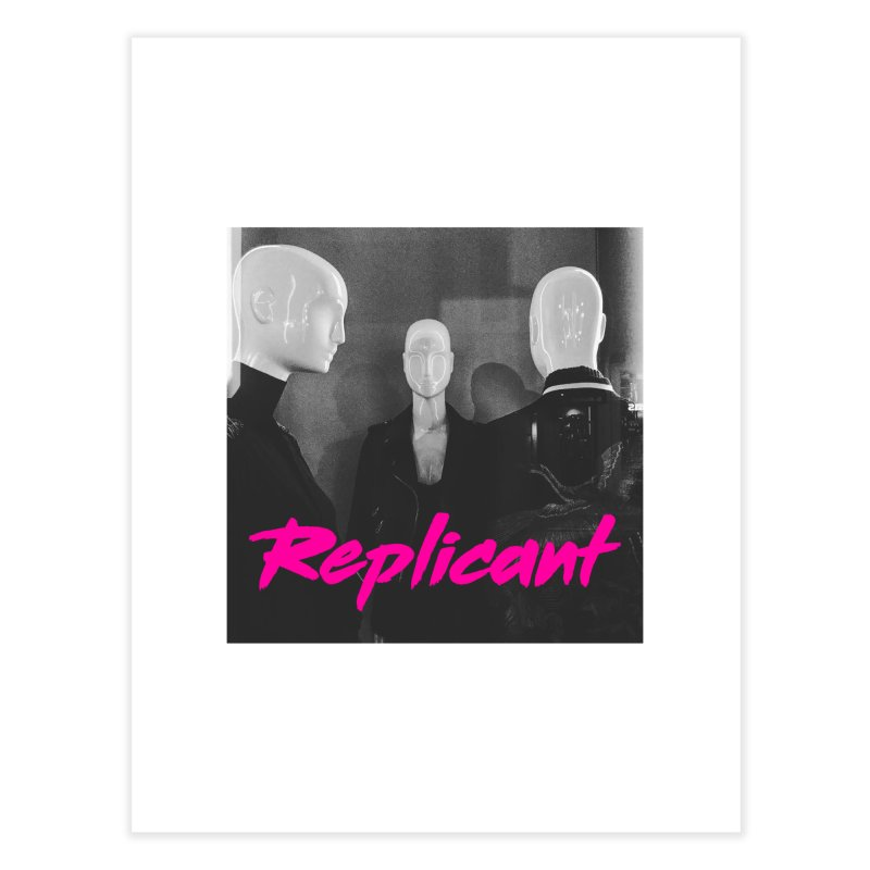 Replicant Trio #1 Home Fine Art Print by Dia Lacina