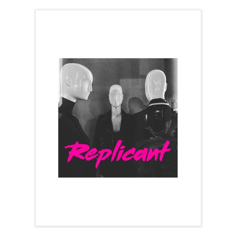 Replicant Trio #1 Home Fine Art Print by Dia Lacina