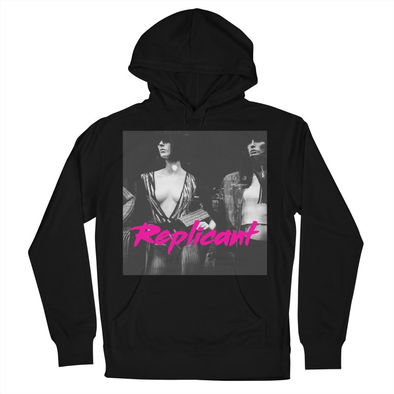 Replicant #3 Men's French Terry Pullover Hoody by Dia Lacina