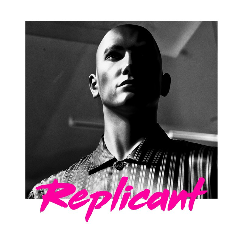Replicant #4 Men's V-Neck by Dia Lacina