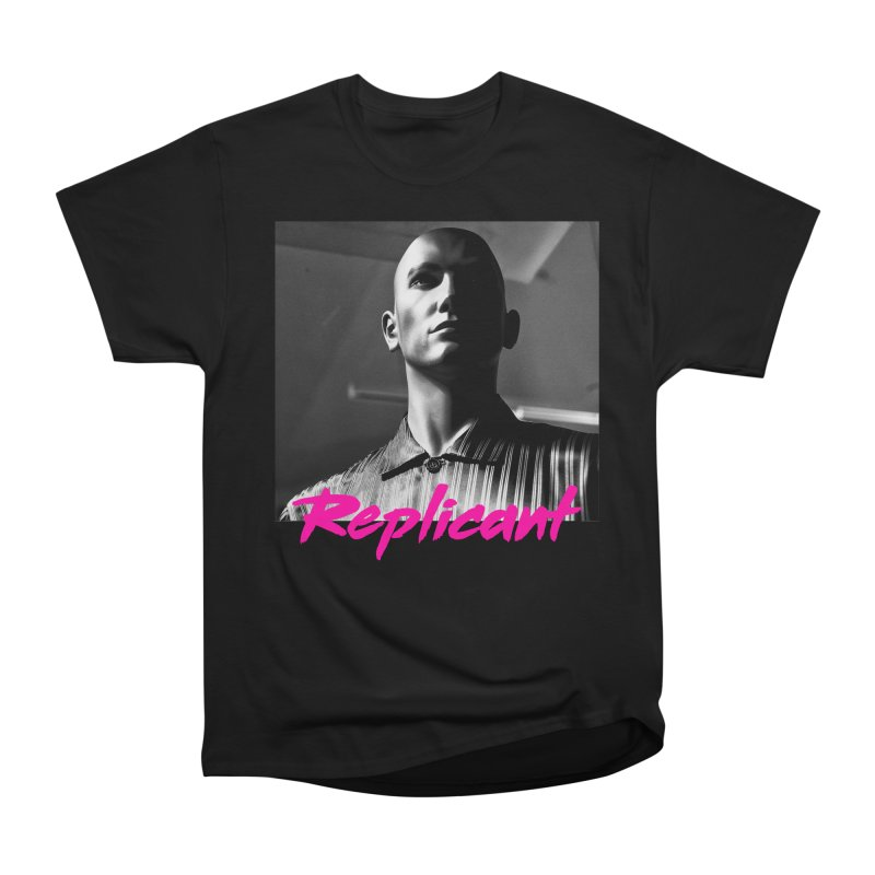 Replicant #4 Women's Heavyweight Unisex T-Shirt by Dia Lacina