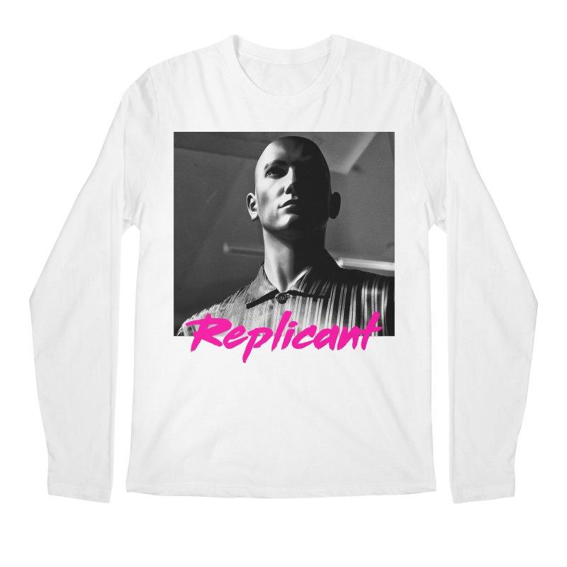 Replicant #4 Men's Regular Longsleeve T-Shirt by Dia Lacina