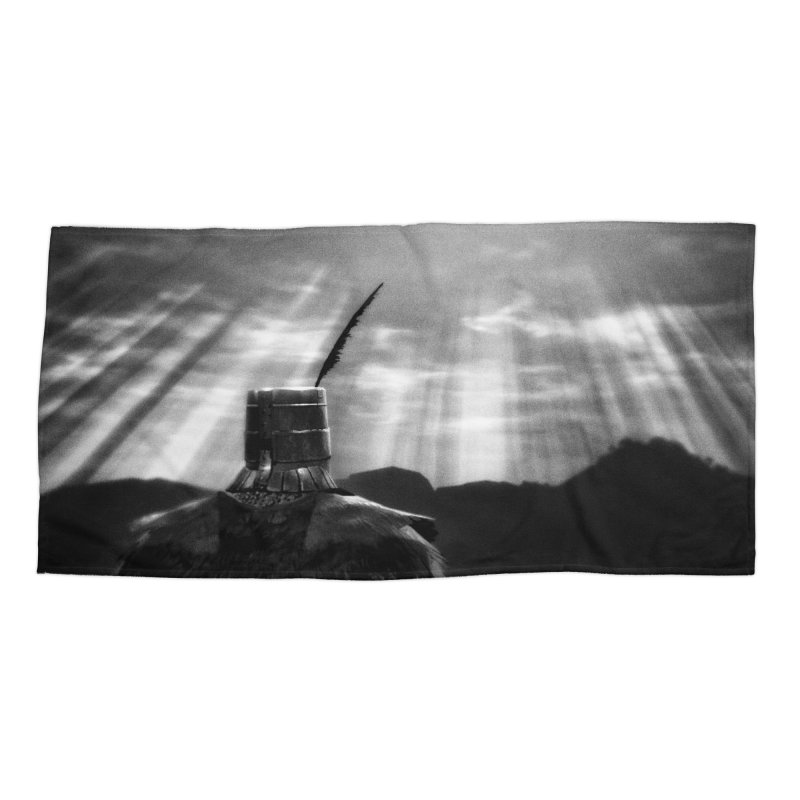 Grossly Incandescent Accessories Beach Towel by Dia Lacina