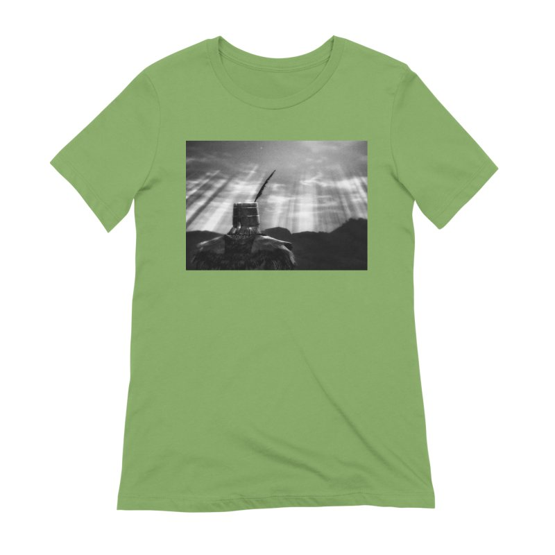 Grossly Incandescent Women's Extra Soft T-Shirt by Dia Lacina