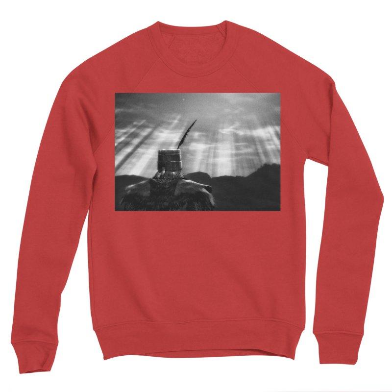 Grossly Incandescent Men's Sponge Fleece Sweatshirt by Dia Lacina