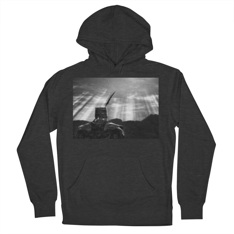 Grossly Incandescent Women's French Terry Pullover Hoody by Dia Lacina