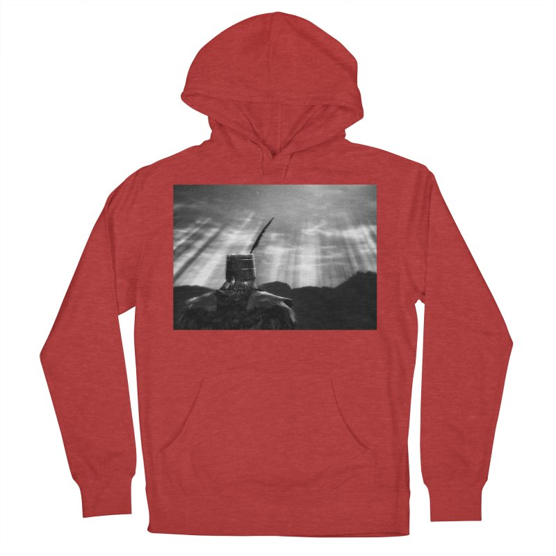 Grossly Incandescent Men's French Terry Pullover Hoody by Dia Lacina
