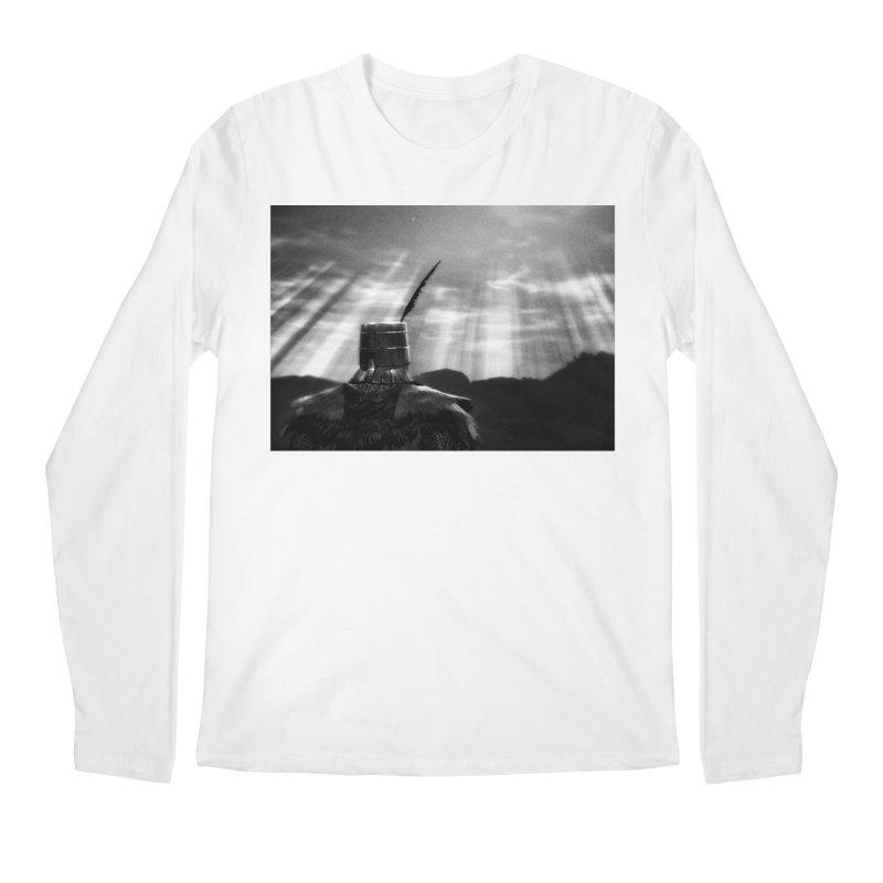 Grossly Incandescent Men's Regular Longsleeve T-Shirt by Dia Lacina