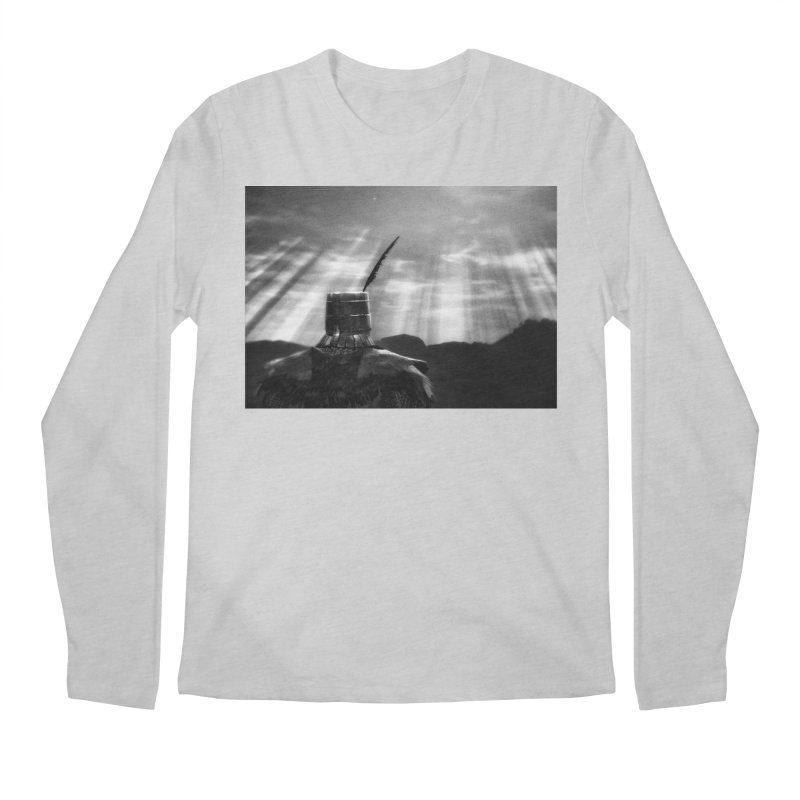 Grossly Incandescent Men's Longsleeve T-Shirt by Dia Lacina