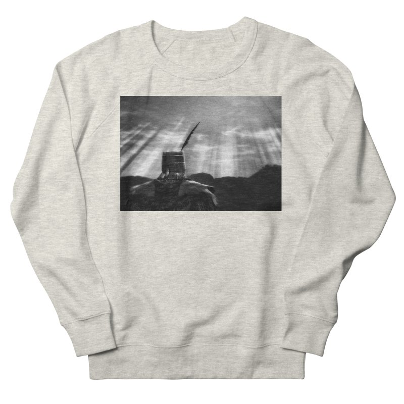 Grossly Incandescent Women's French Terry Sweatshirt by Dia Lacina