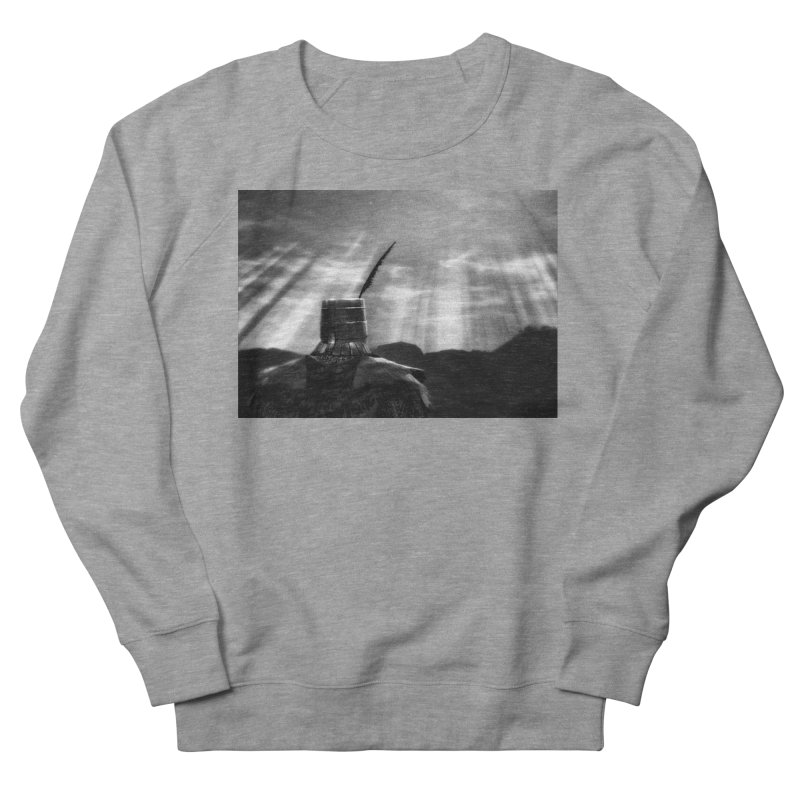 Grossly Incandescent Men's French Terry Sweatshirt by Dia Lacina