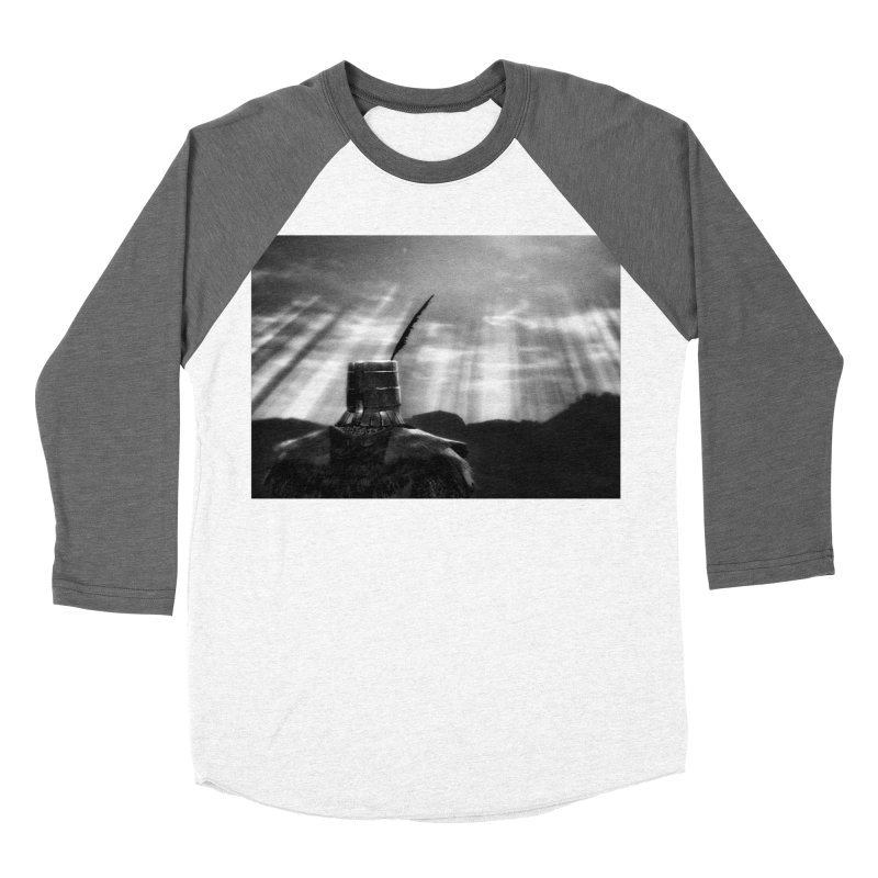 Grossly Incandescent Women's Baseball Triblend Longsleeve T-Shirt by Dia Lacina