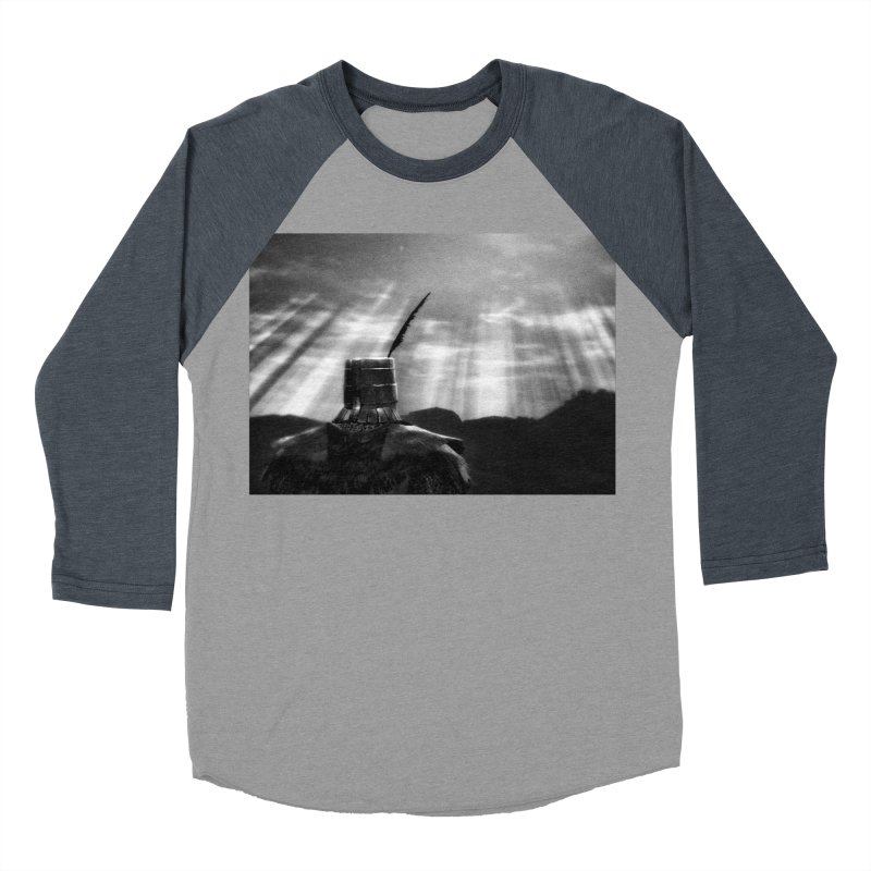Grossly Incandescent Men's Baseball Triblend Longsleeve T-Shirt by Dia Lacina