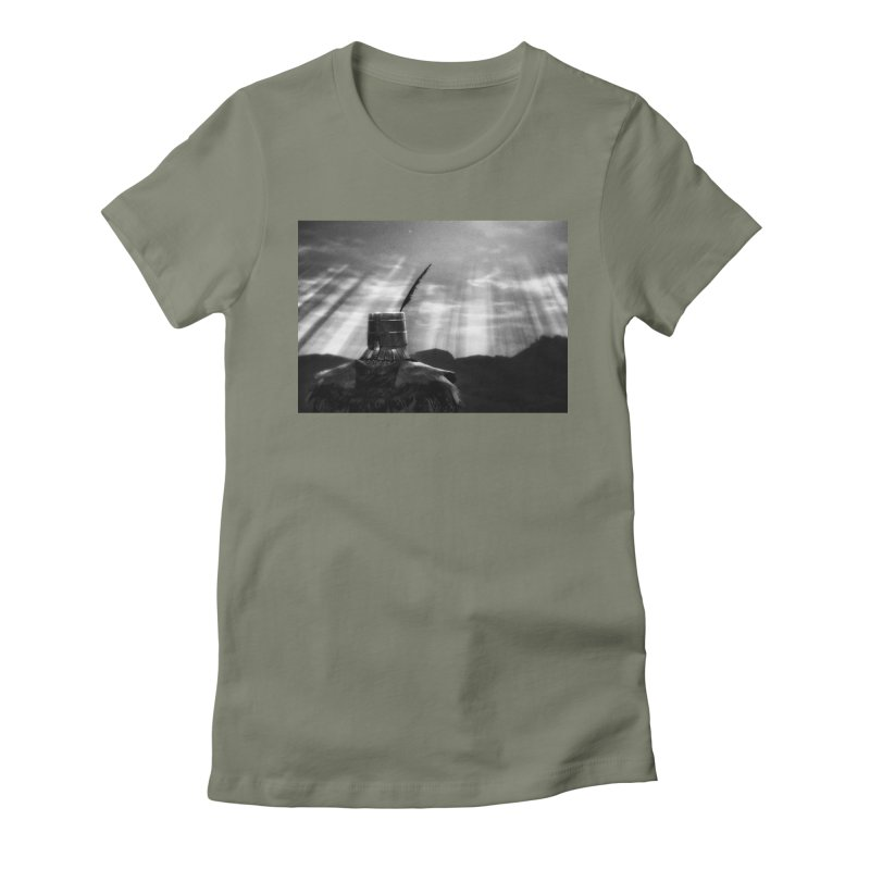 Grossly Incandescent Women's T-Shirt by Dia Lacina