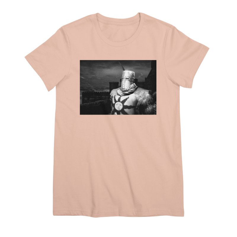 Praise the Sun Women's Premium T-Shirt by Dia Lacina