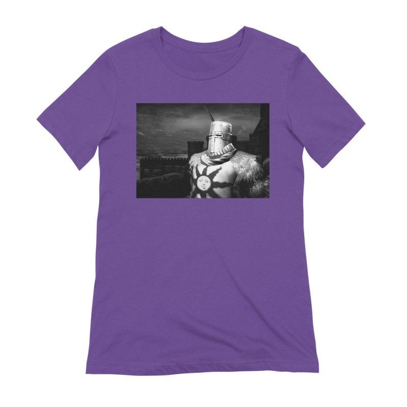Praise the Sun Women's Extra Soft T-Shirt by Dia Lacina