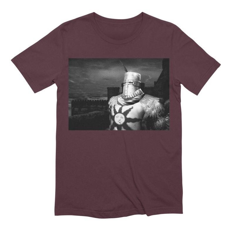 Praise the Sun Men's Extra Soft T-Shirt by Dia Lacina