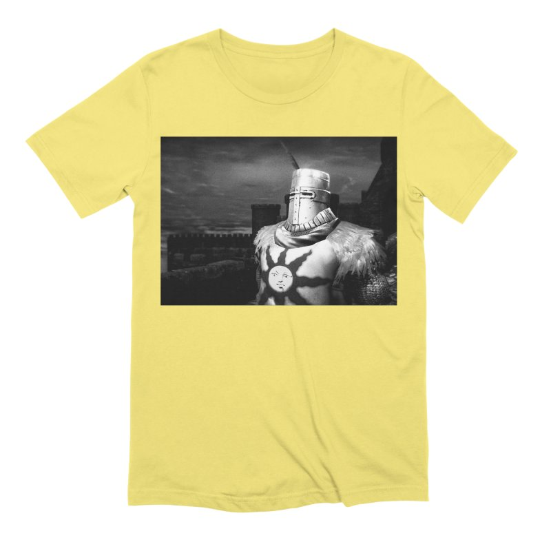 Praise the Sun Men's Extra Soft T-Shirt by Dia Lacina