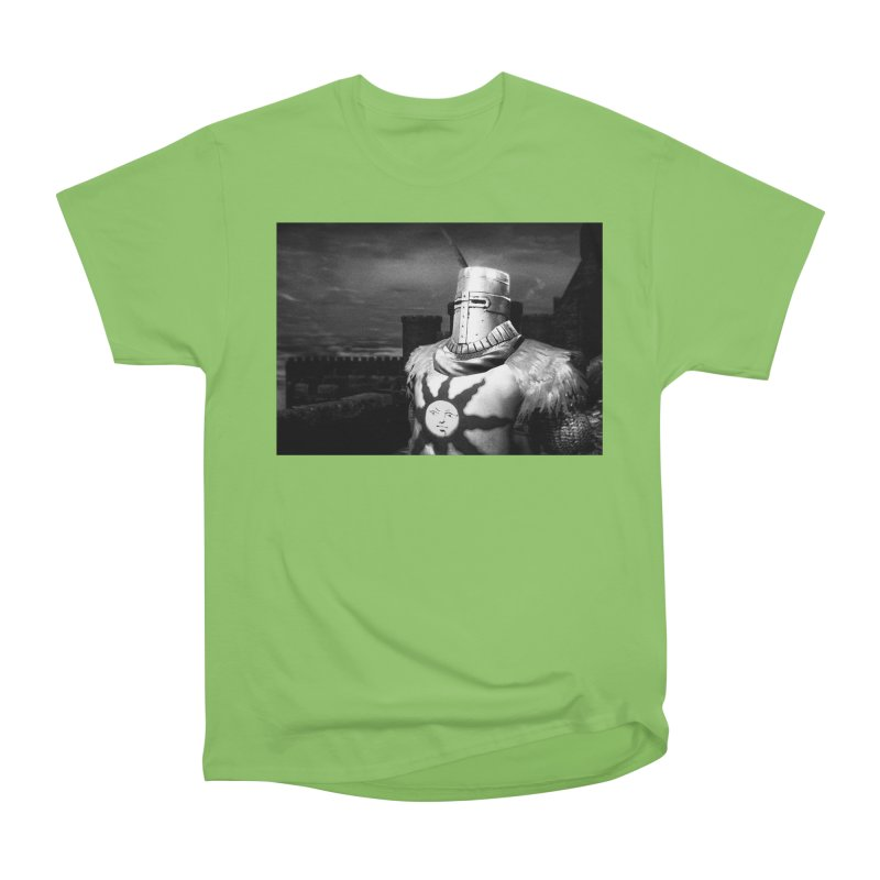 Praise the Sun Men's Heavyweight T-Shirt by Dia Lacina