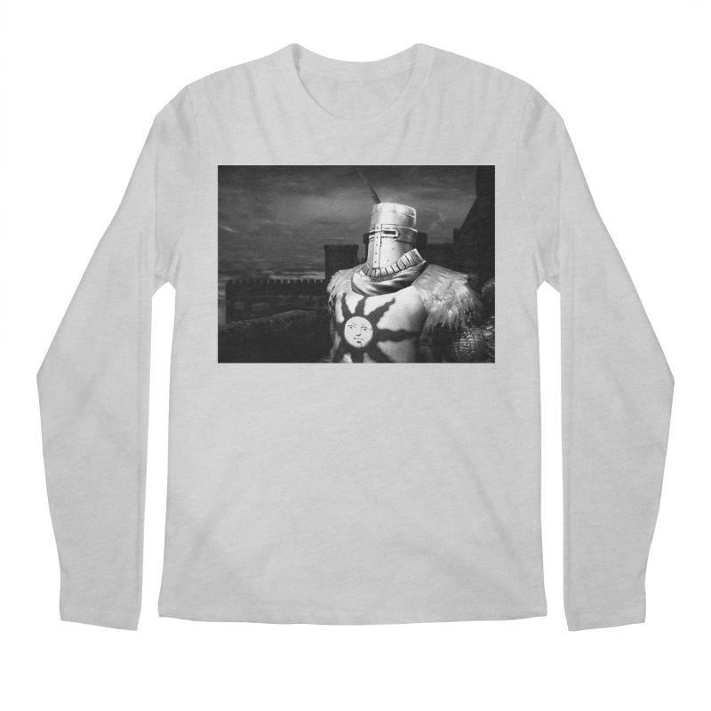 Praise the Sun Men's Regular Longsleeve T-Shirt by Dia Lacina