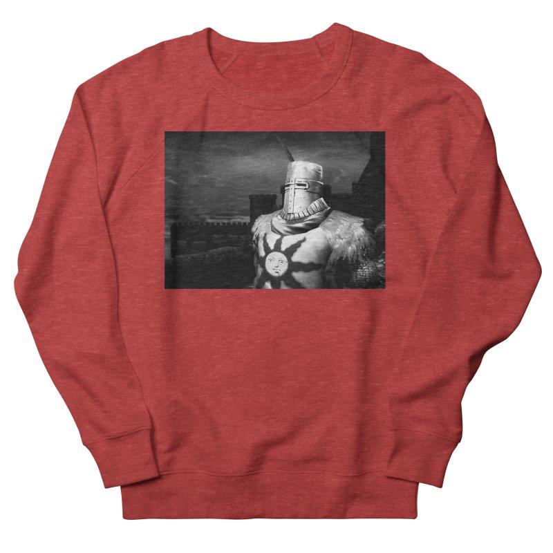 Praise the Sun Men's French Terry Sweatshirt by Dia Lacina