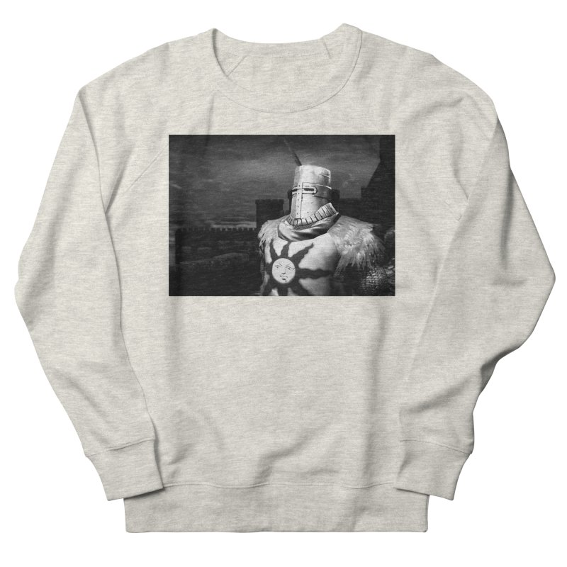 Praise the Sun Men's French Terry Sweatshirt by Dia Lacina