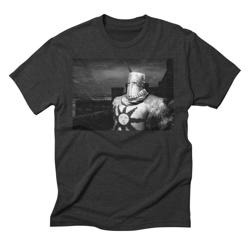 Praise the Sun Men's Triblend T-Shirt by Dia Lacina