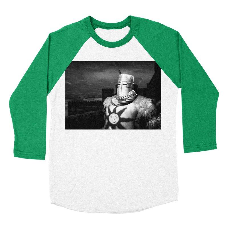 Praise the Sun Men's Baseball Triblend Longsleeve T-Shirt by Dia Lacina