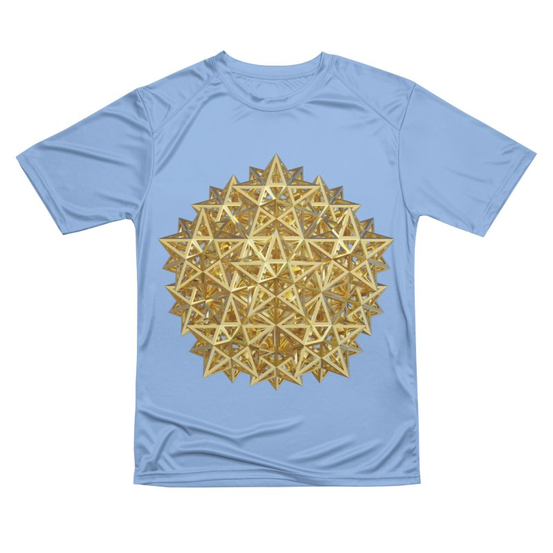 14 Stellated Dodecahedrons Gold Women's T-Shirt by diamondheart's Artist Shop