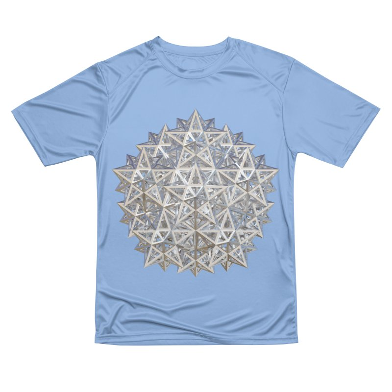 14 Stellated Dodecahedrons Silver Women's Performance Unisex T-Shirt by diamondheart's Artist Shop