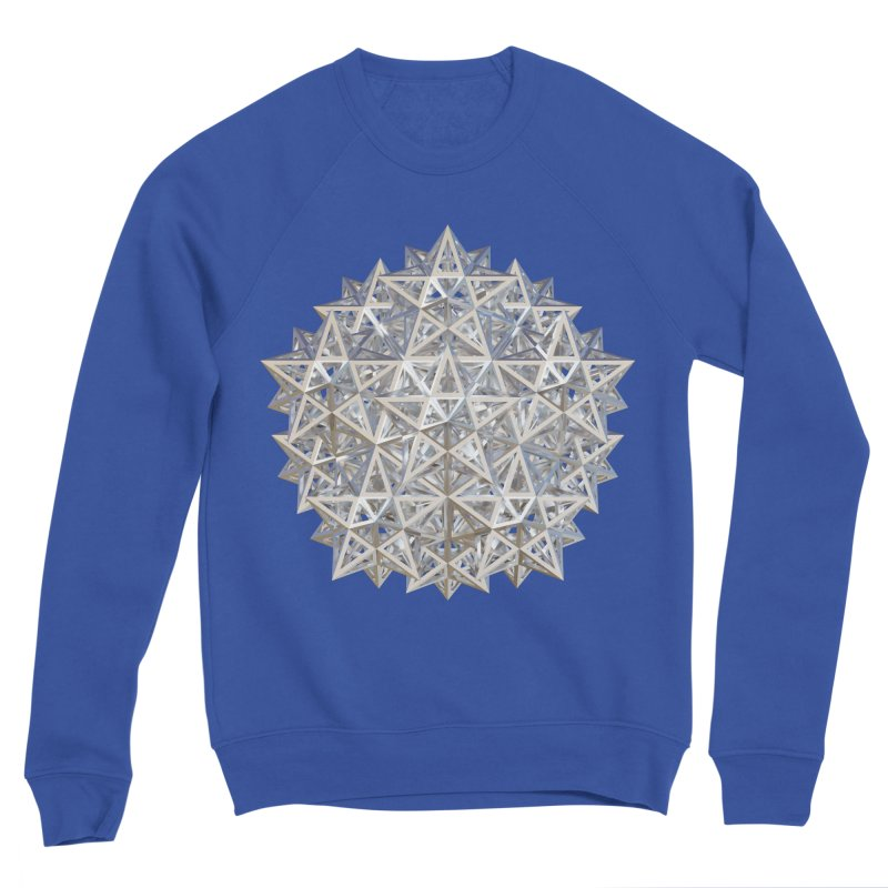 14 Stellated Dodecahedrons Silver Women's Sweatshirt by diamondheart's Artist Shop