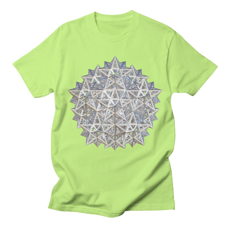 14 Stellated Dodecahedrons Silver Women's Regular Unisex T-Shirt by diamondheart's Artist Shop