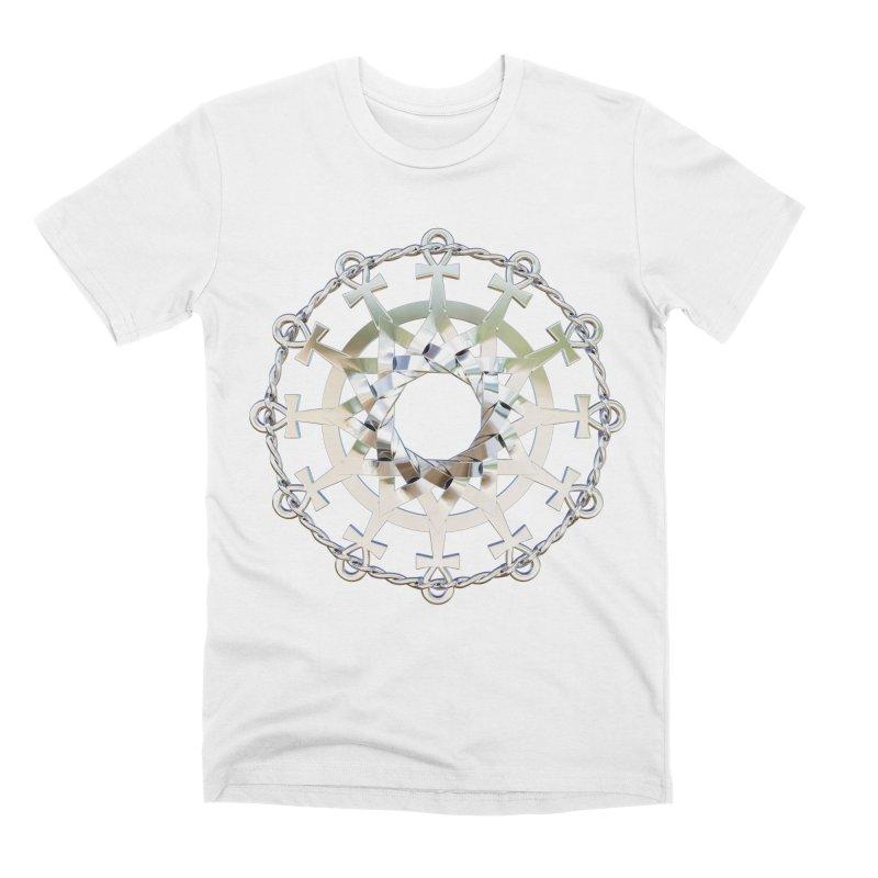 Ultra Star of Metatron Ag (13th Key) Men's T-Shirt by diamondheart's Artist Shop