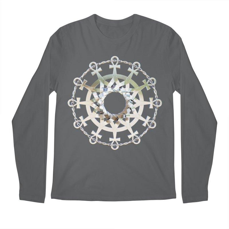 Ultra Star of Metatron Ag (13th Key) Men's Longsleeve T-Shirt by diamondheart's Artist Shop