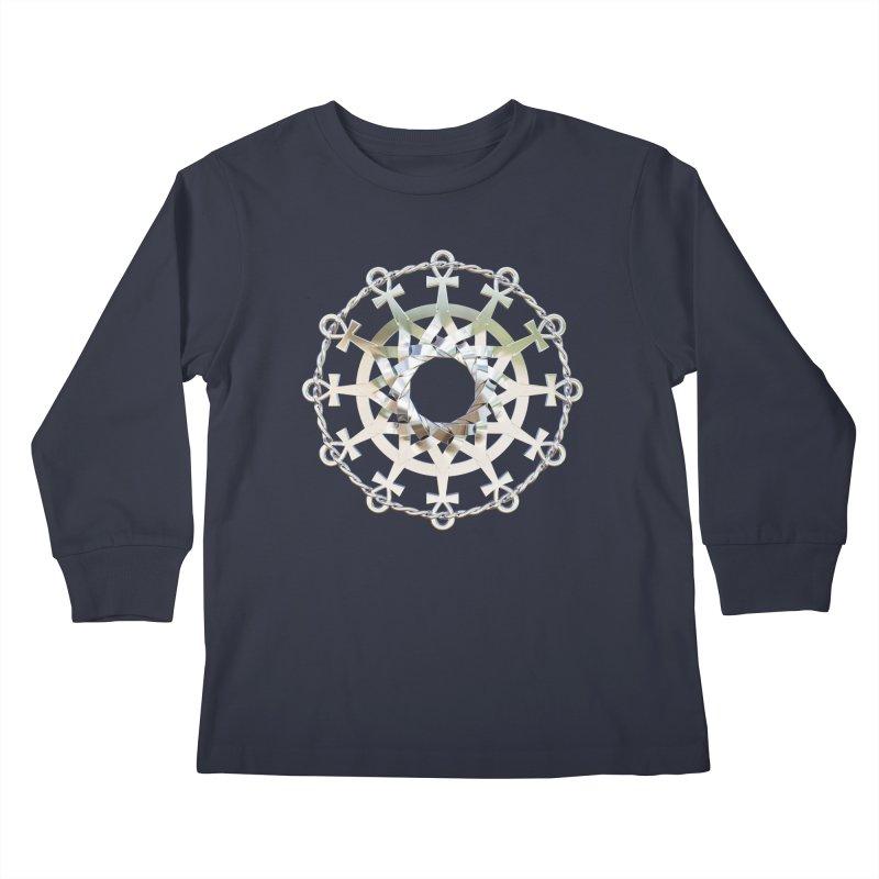 Ultra Star of Metatron Ag (13th Key) Kids Longsleeve T-Shirt by diamondheart's Artist Shop