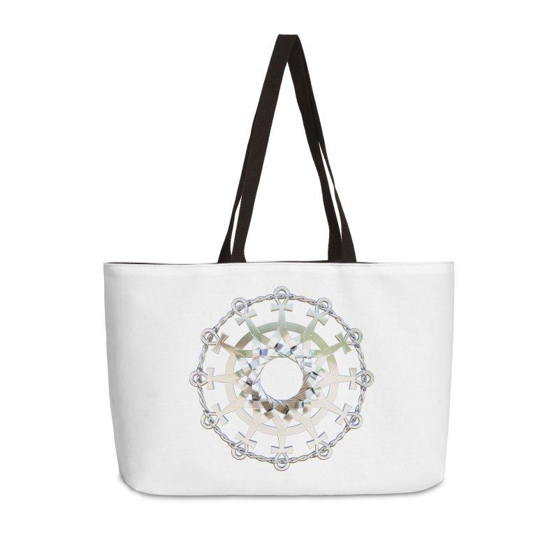 Ultra Star of Metatron Ag (13th Key) Accessories Bag by diamondheart's Artist Shop