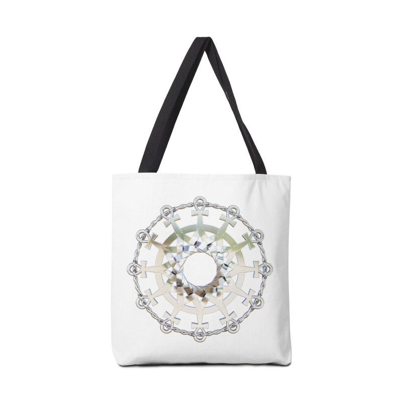 Ultra Star of Metatron Ag (13th Key) Accessories Bag by diamondheart's Artist Shop