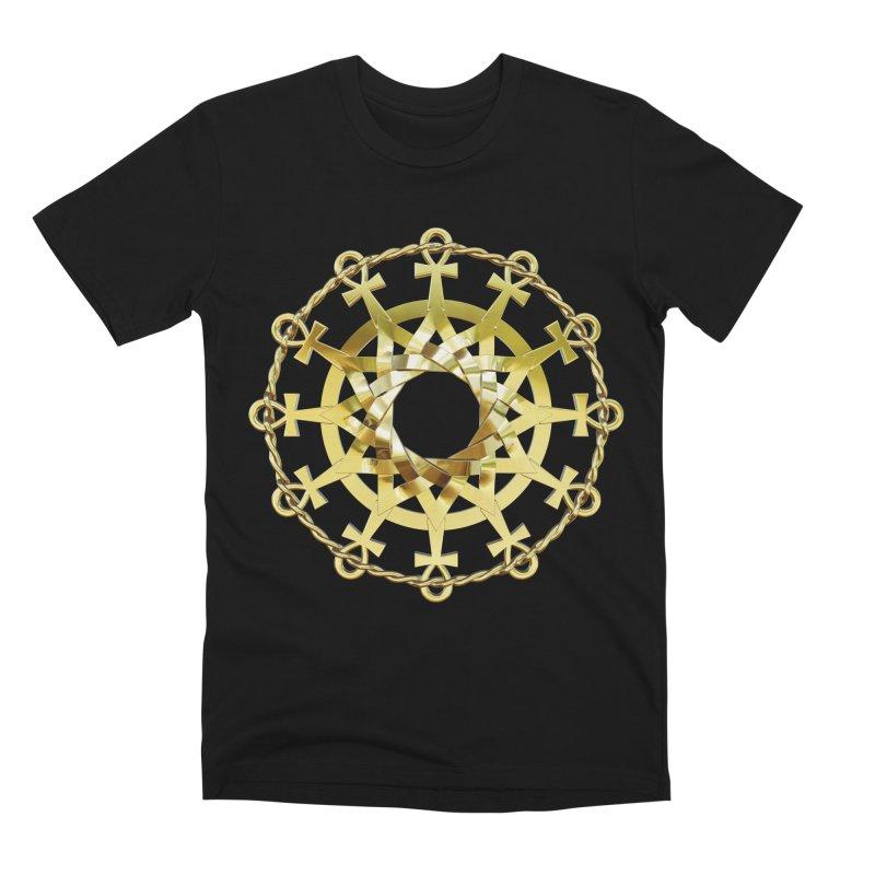 Ultra Star of Metatron Au (13th Key) Men's T-Shirt by diamondheart's Artist Shop