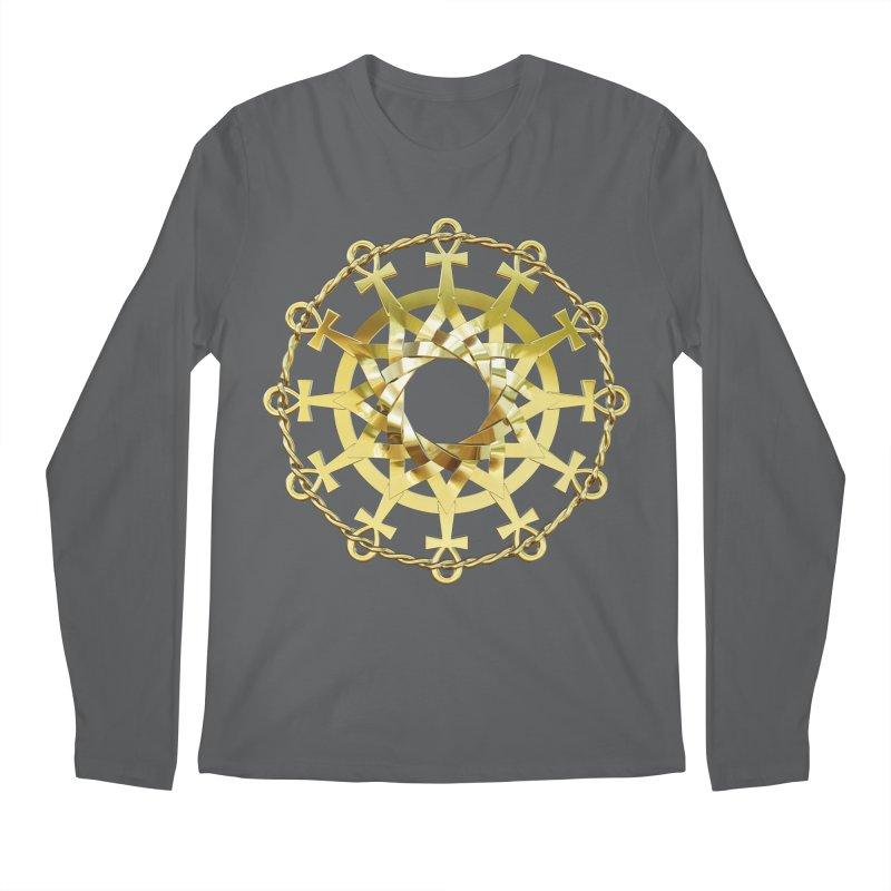 Ultra Star of Metatron Au (13th Key) Men's Longsleeve T-Shirt by diamondheart's Artist Shop
