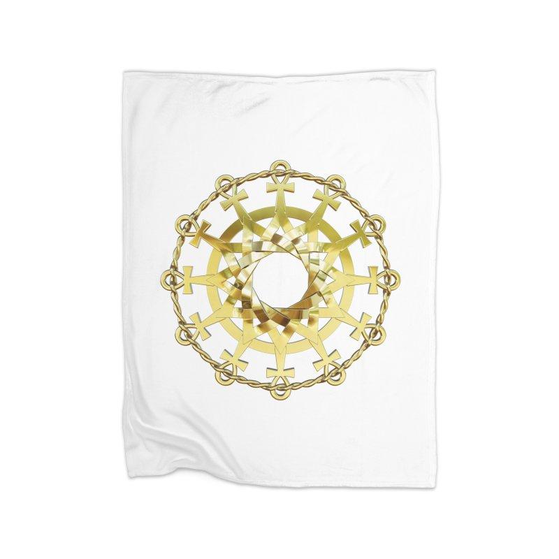 Ultra Star of Metatron Au (13th Key) Home Blanket by diamondheart's Artist Shop