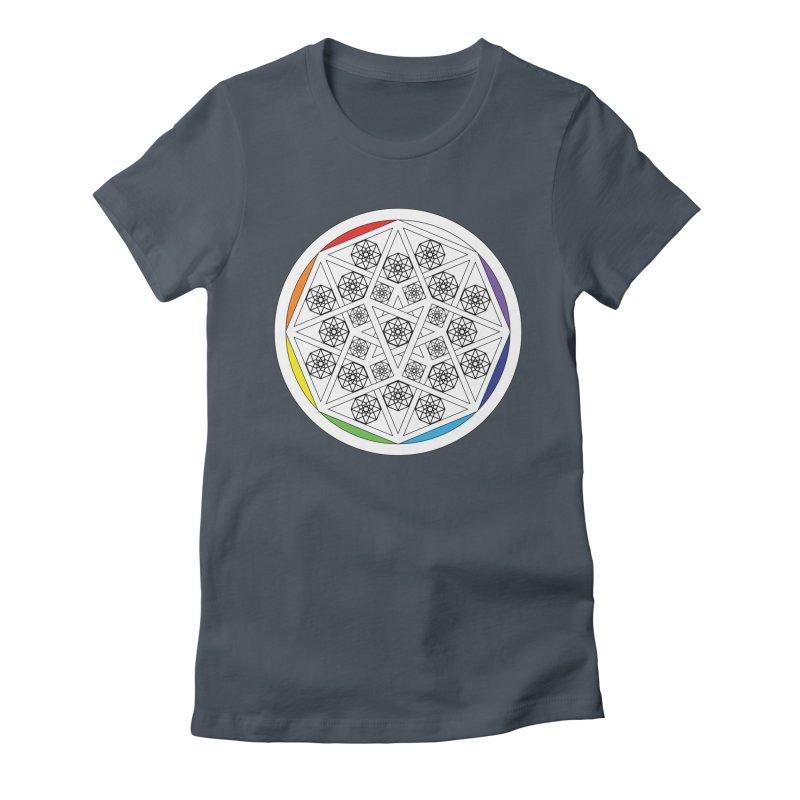 Tesseract Tesselation Women's T-Shirt by diamondheart's Artist Shop