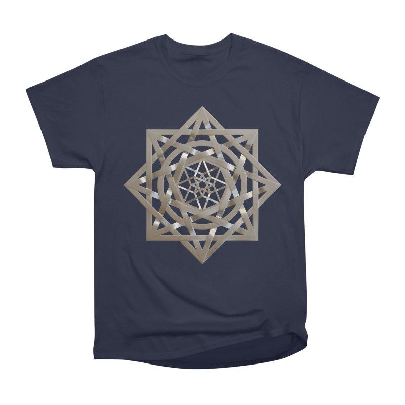 8:8 Tesseract Stargate Silver Women's Heavyweight Unisex T-Shirt by diamondheart's Artist Shop