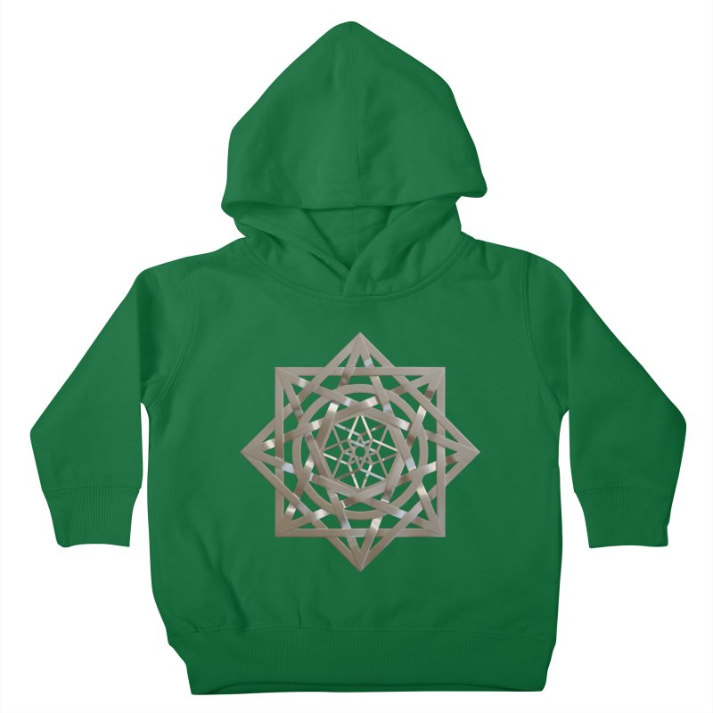 8:8 Tesseract Stargate Silver Kids Toddler Pullover Hoody by diamondheart's Artist Shop