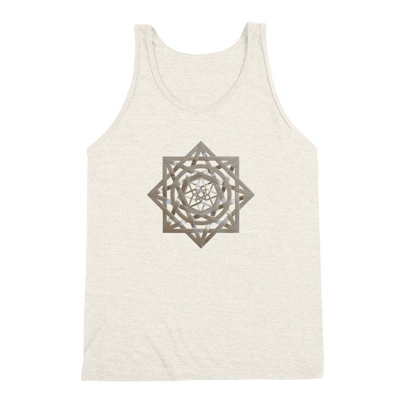 8:8 Tesseract Stargate Silver Men's Triblend Tank by diamondheart's Artist Shop