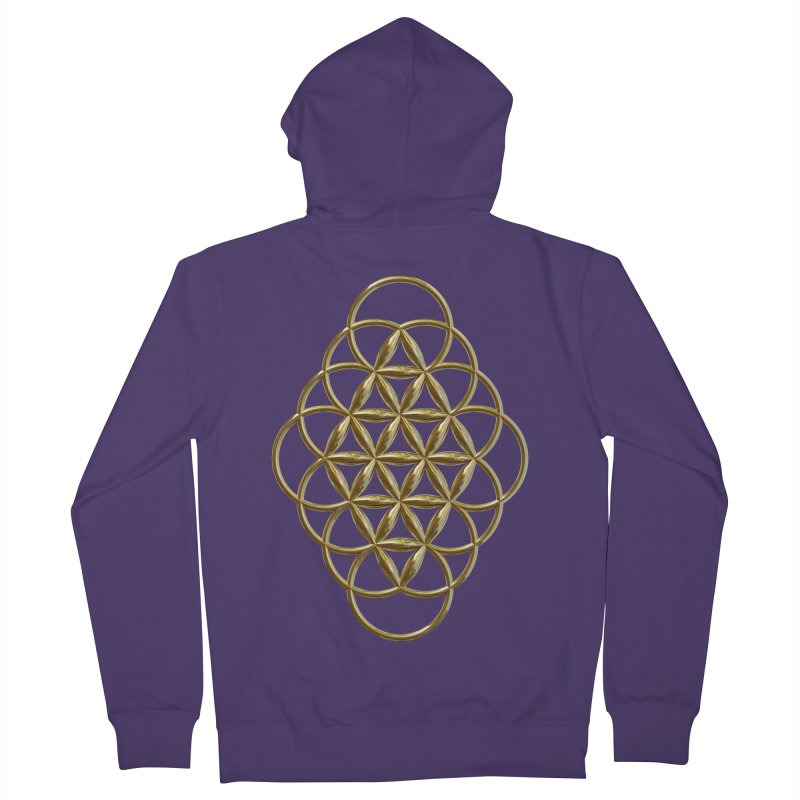 Seed of Love Au Women's French Terry Zip-Up Hoody by diamondheart's Artist Shop