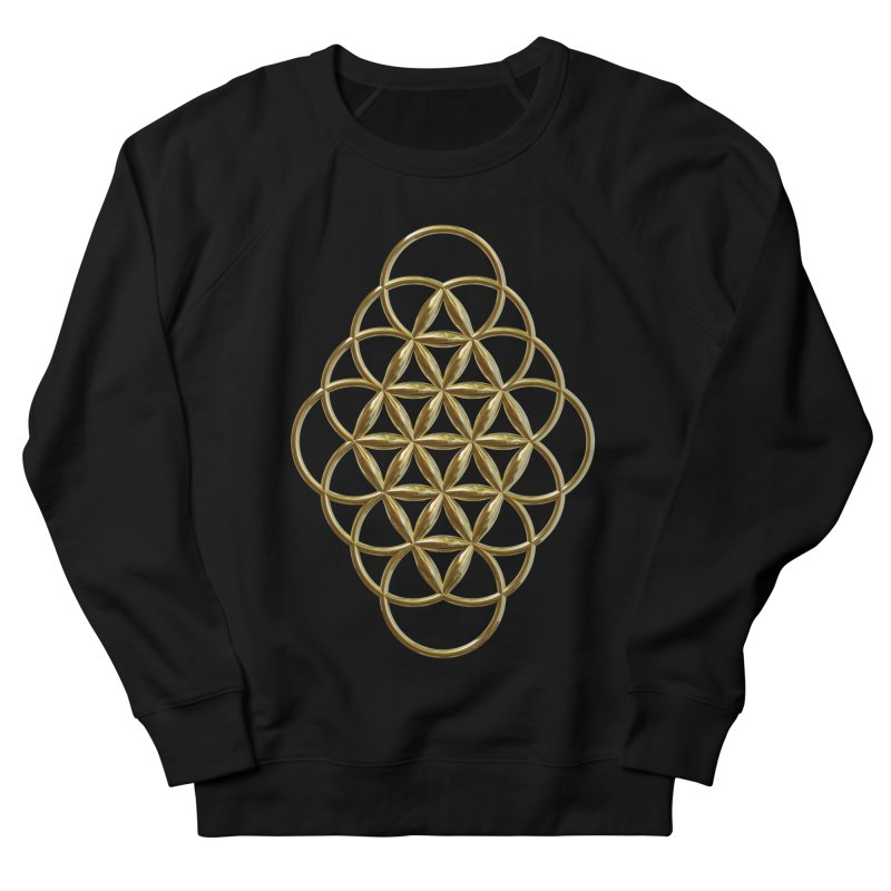 Seed of Love Au Women's French Terry Sweatshirt by diamondheart's Artist Shop