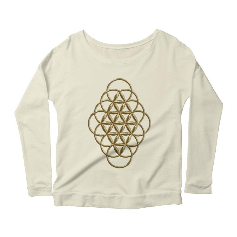 Seed of Love Au Women's Scoop Neck Longsleeve T-Shirt by diamondheart's Artist Shop