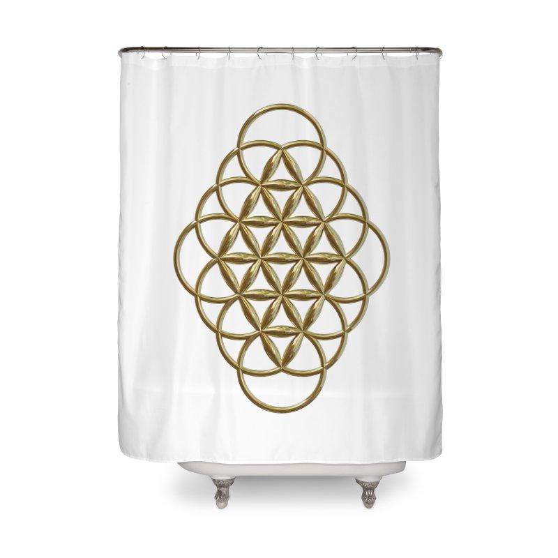 Seed of Love Au Home Shower Curtain by diamondheart's Artist Shop